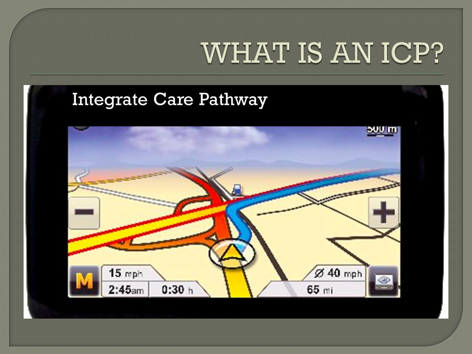 Integrate Care Pathway