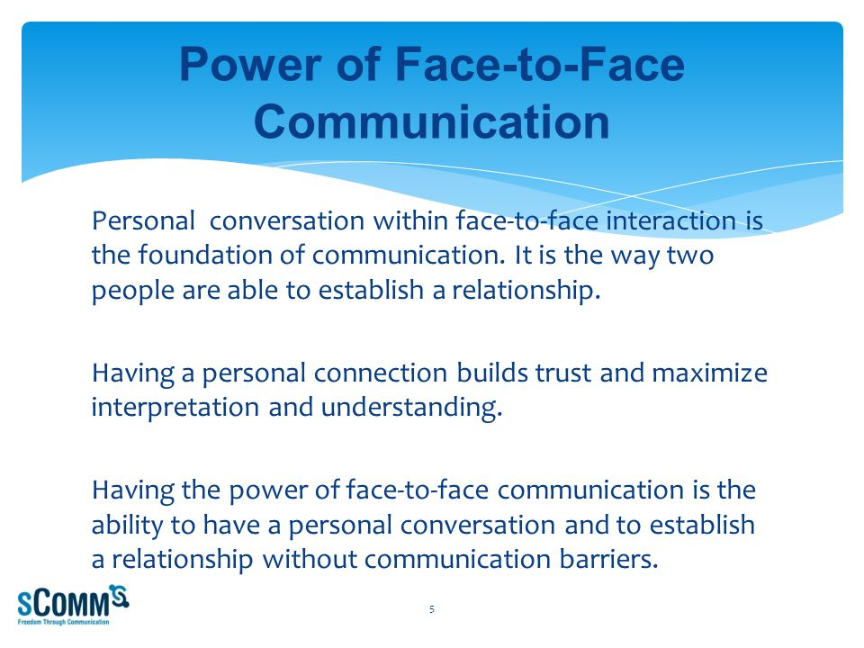 Face-to-Face Communication 26 School deaf employee communicating with hearing co-worker.