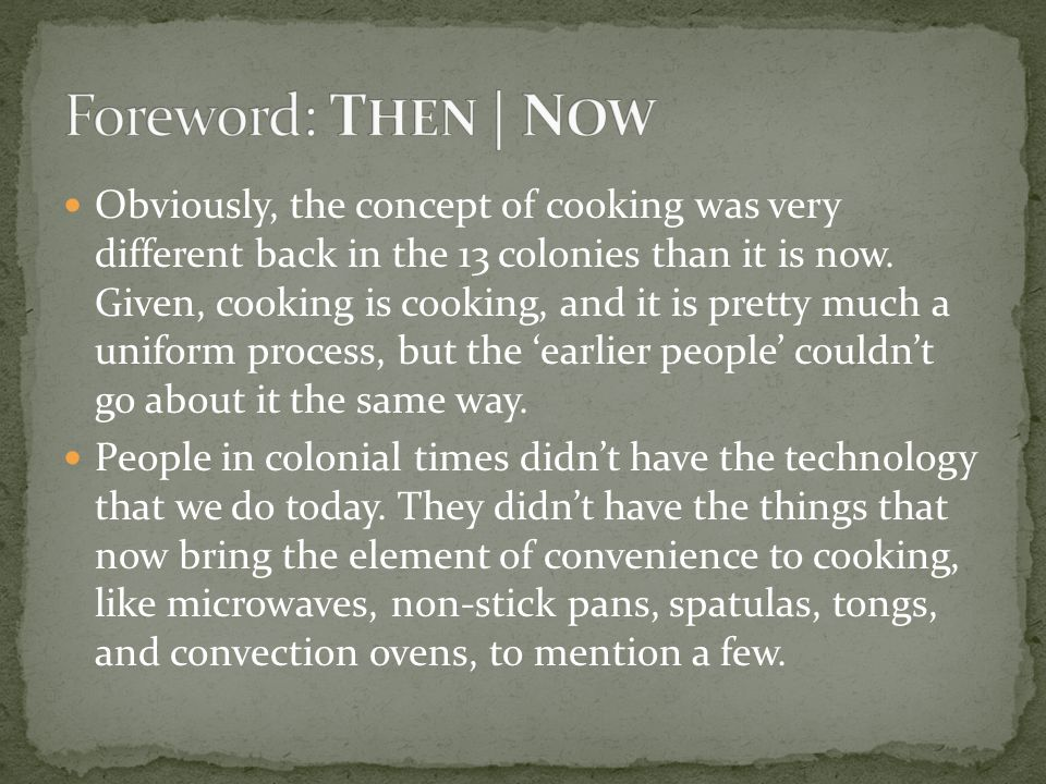 Cooking: The duty of WHOM.