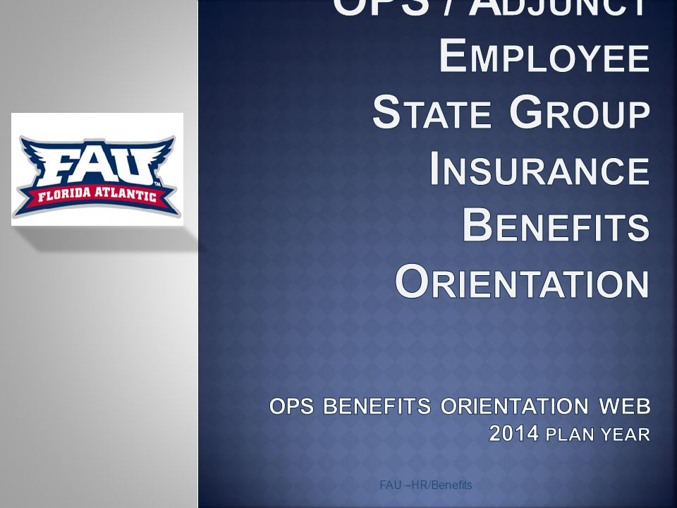  All OPS employees will receive an initial letter from People First with their new People First user ID  OPS employees will receive an enrollment packet in the mail only if eligible for coverage.
