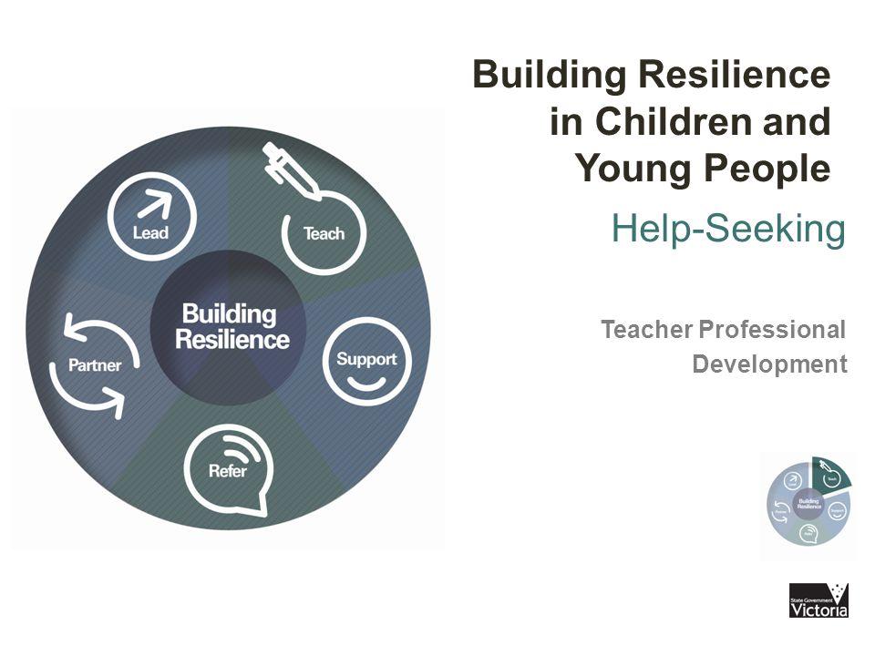 Help-seeking Why teach help-seeking.