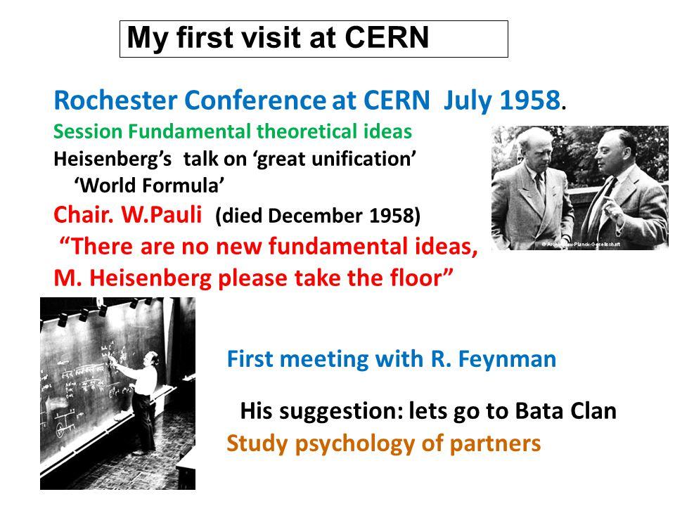 Far Future of CERN Next event: 90.anniversary, with various upgrades of LHC CERN will still bloom.