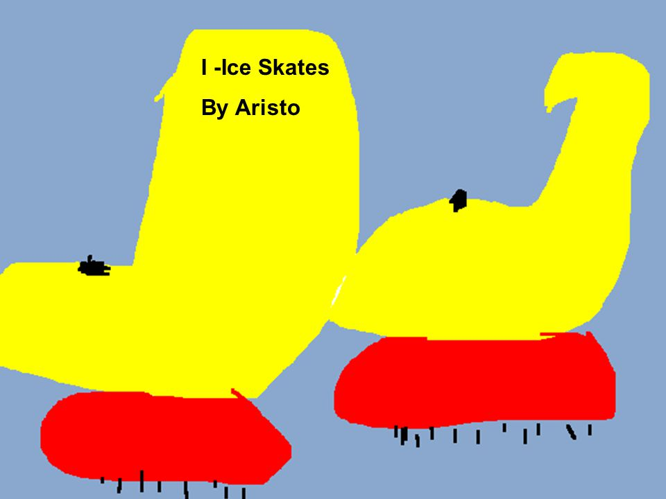 I -Ice Skates By Aristo
