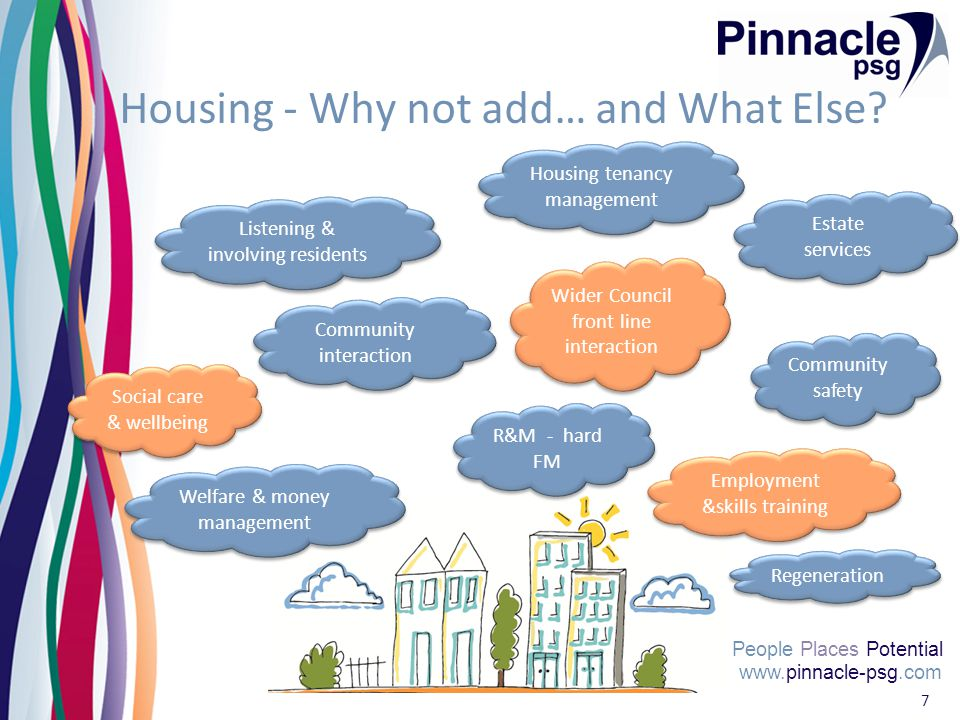 www.pinnacle-psg.com People Places Potential 7 Housing - Why not add… and What Else.