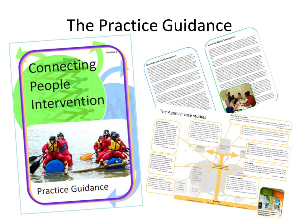 The Practice Guidance