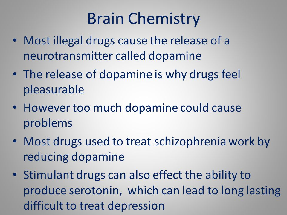 Cannabis & the Brain -Most drugs usually fall into category of stimulant, depressant, hallucinogen or prescribed drugs.