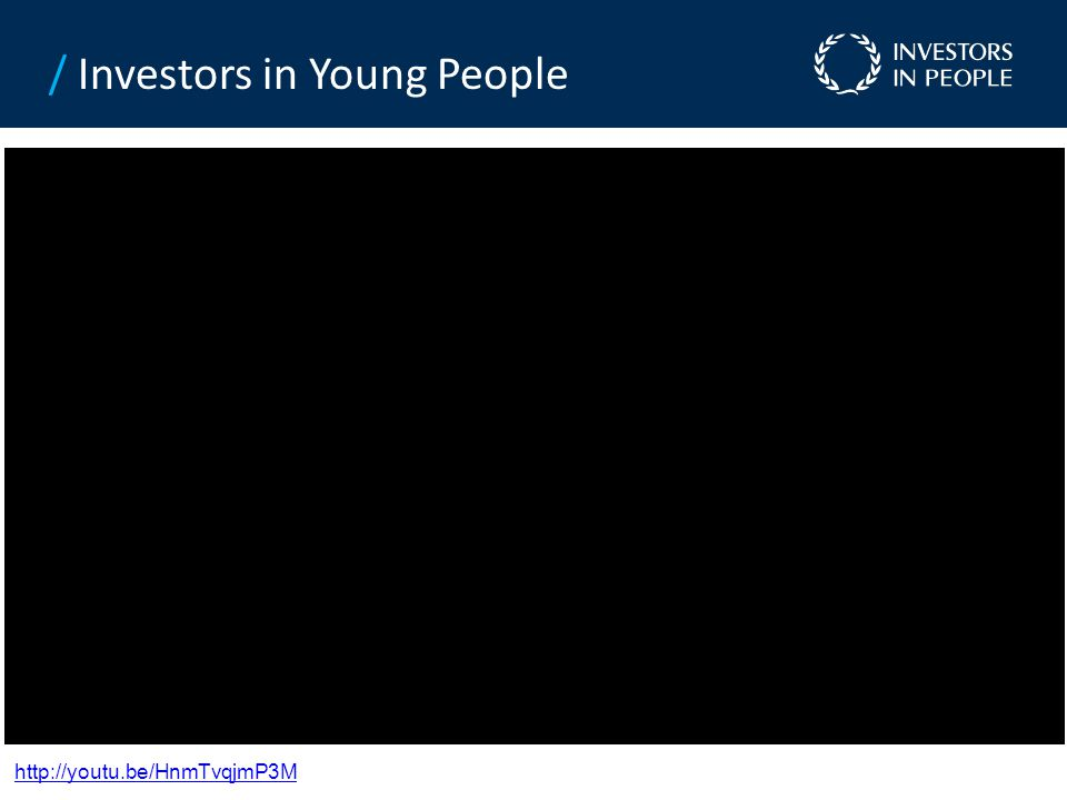 / Investors in Young People http://youtu.be/HnmTvqjmP3M
