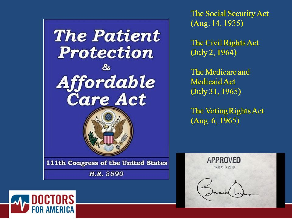 The Social Security Act (Aug.