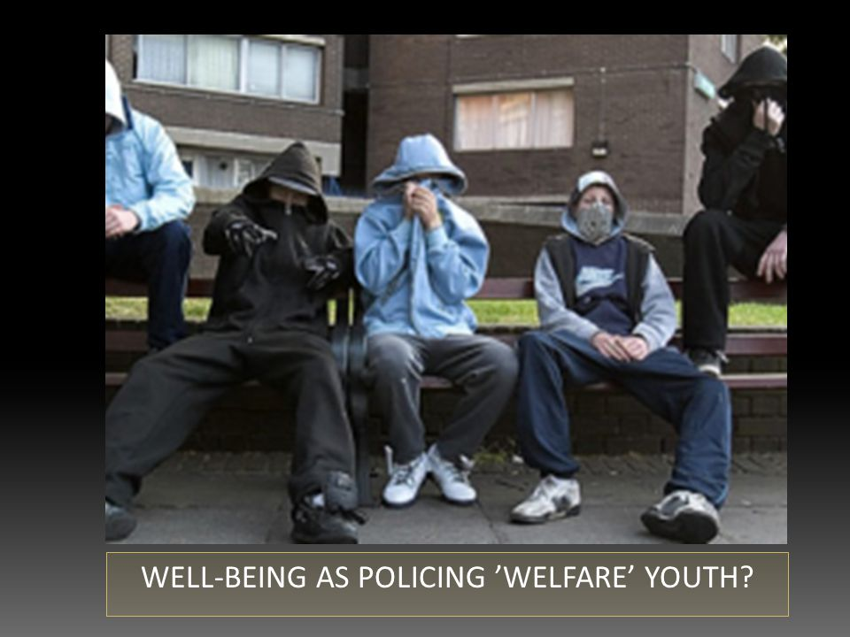 WELL-BEING AS POLICING 'WELFARE' YOUTH