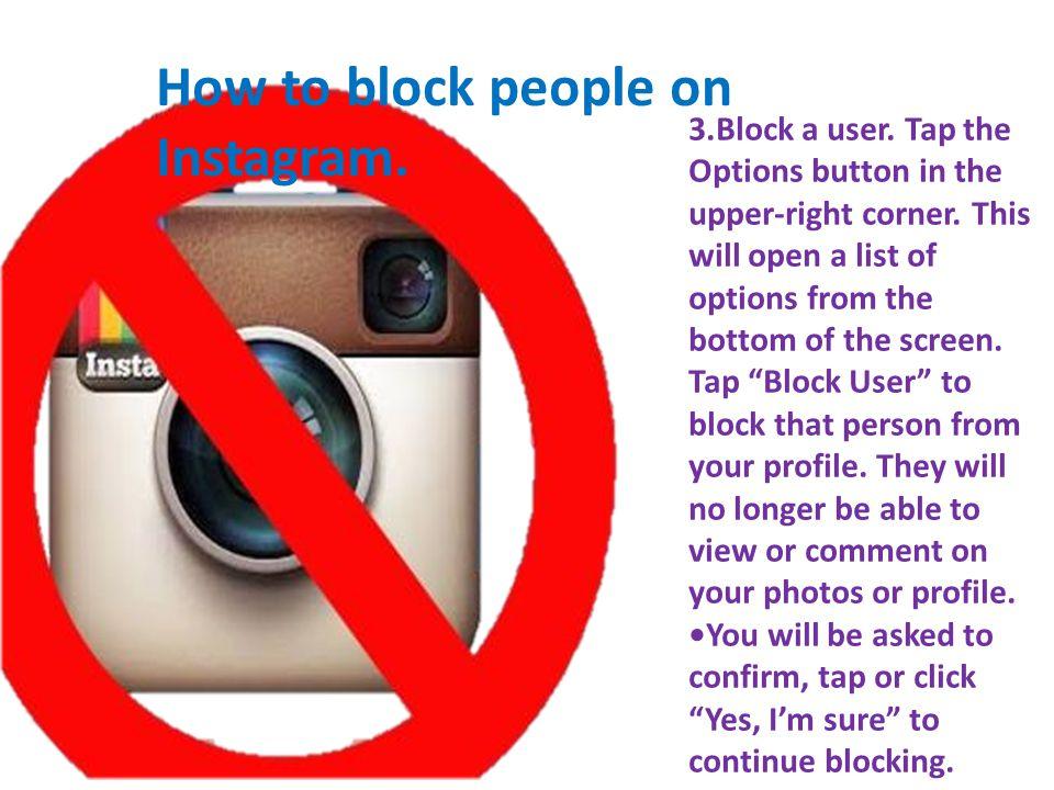 How to block people on kik.1.