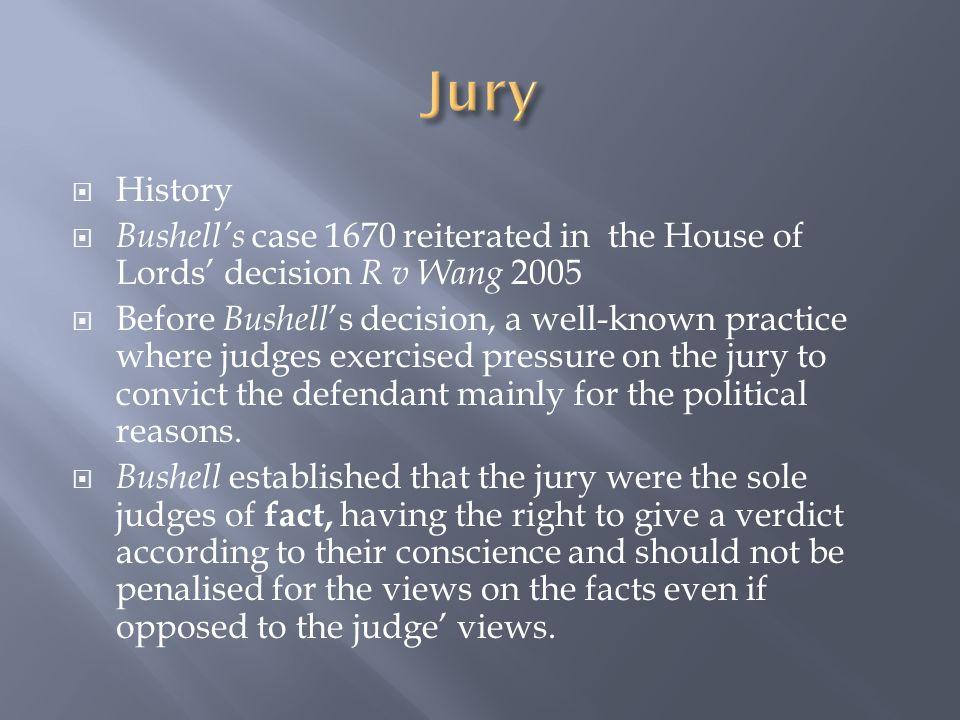  Lack of competence  The 'perverse verdicts' problem  Bias  Representation of ethnic minorities  Jury nobbing
