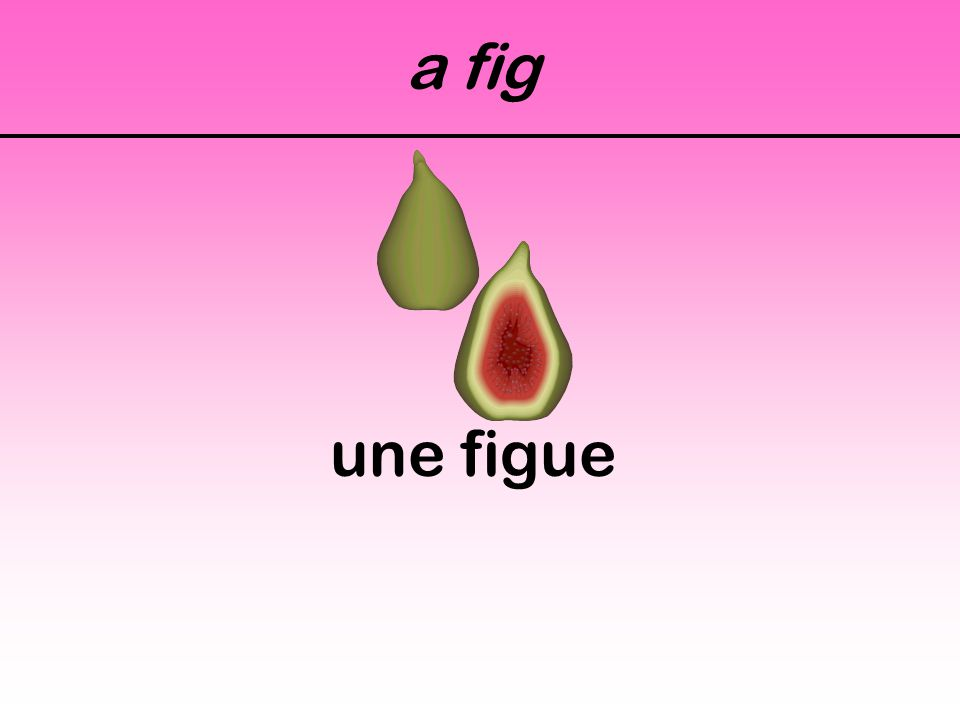 a fig une figue