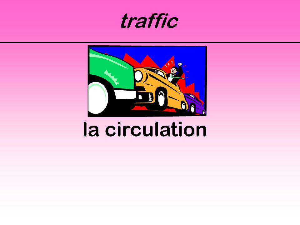 traffic la circulation