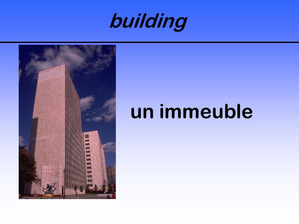 building un immeuble
