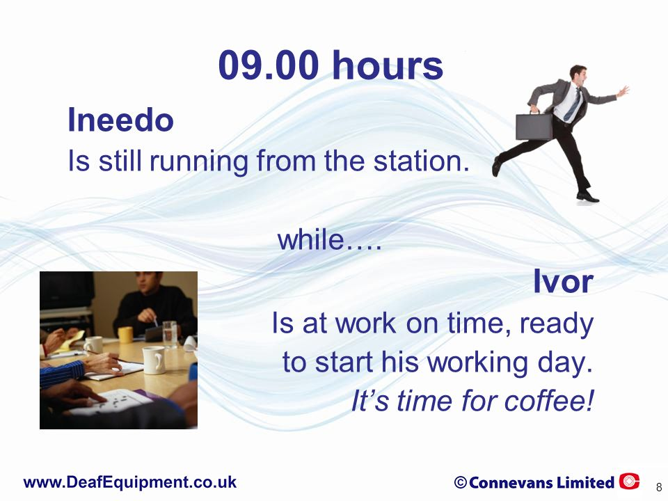 09.00 hours Ineedo Is still running from the station.