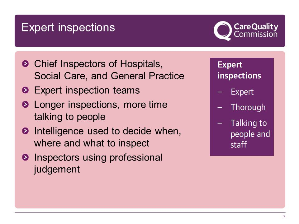Clear standards 8 Three levels: Fundamentals of care Expected standards of care High-quality care.