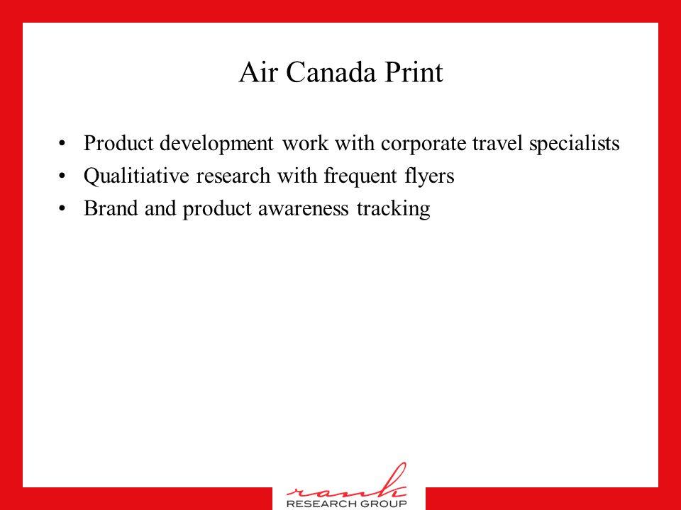 Air Canada Print