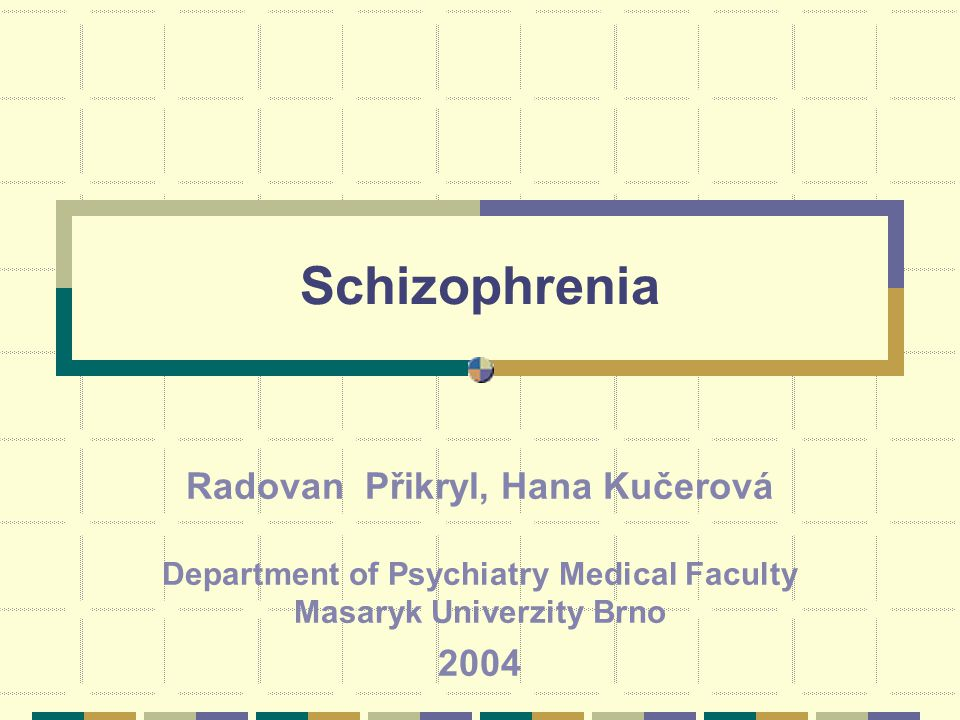 Treatment People with schizophrenia have an excess of the neurotransmitters like dopamine and serotonin The conventional, first-generation antipsychotics are dopamine antagonists The newer, atypical, second-generation antipsychotics are dopamine and serotonin antagonists.