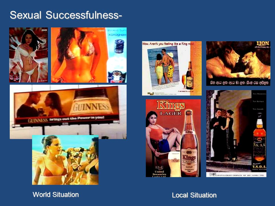 Sexual Successfulness- World Situation Local Situation