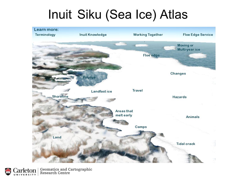 Inuit Siku (Sea Ice) Atlas