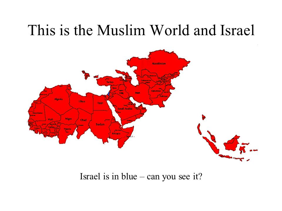  Jerusalem They don't know that… …the Jewish Nation thrived for a thousand years.