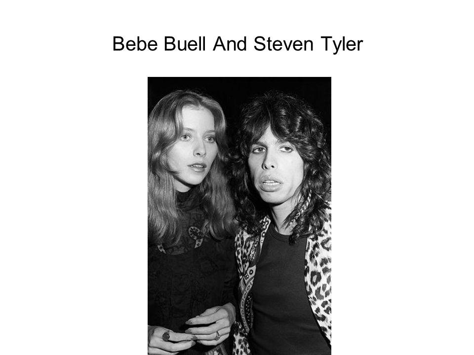 Bebe Buell And Steven Tyler