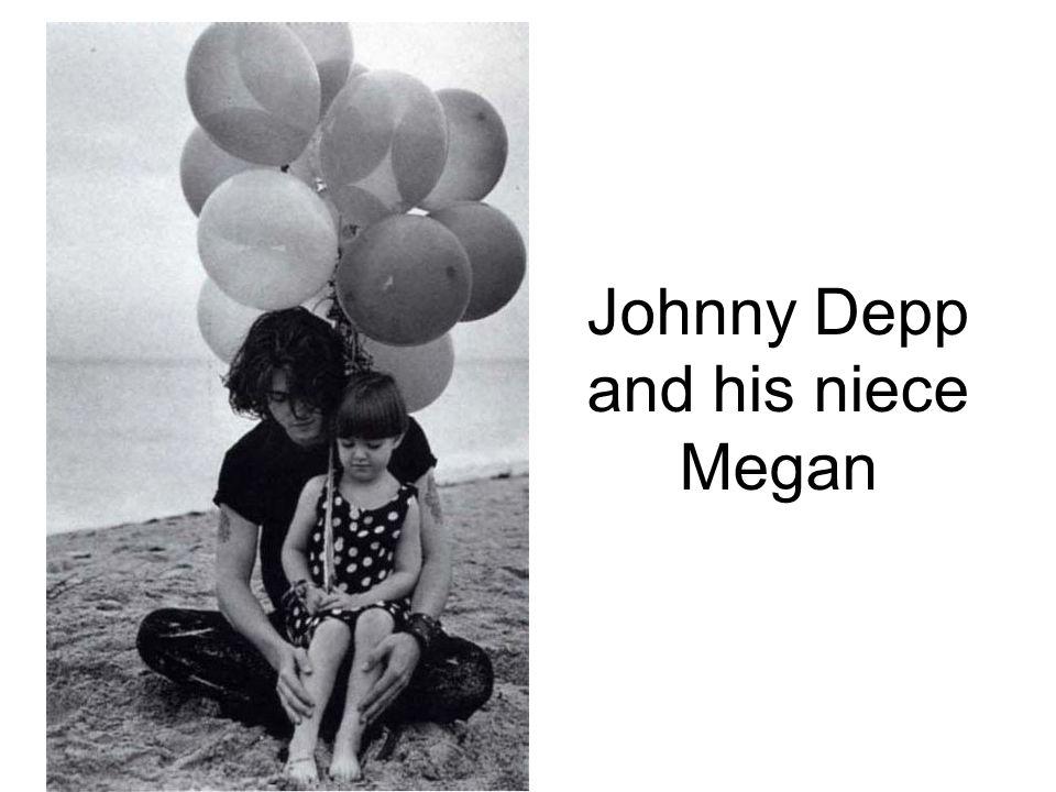 Johnny Depp and his niece Megan