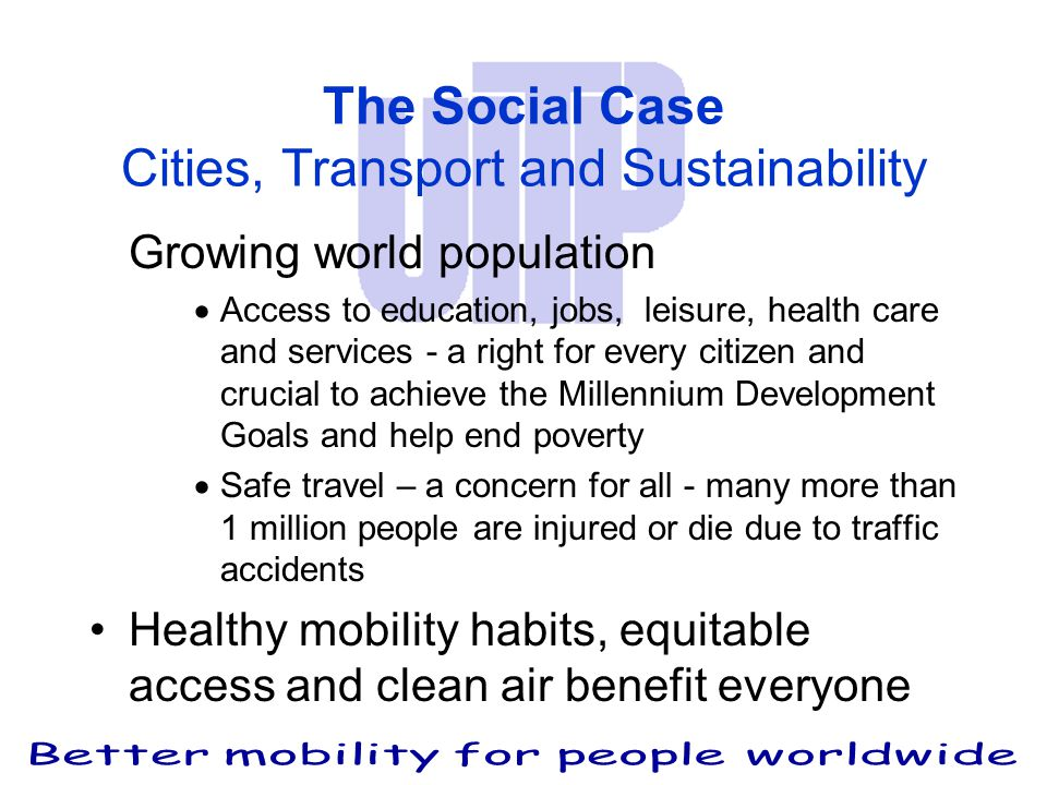 3 Pillars of Sustainable Mobility