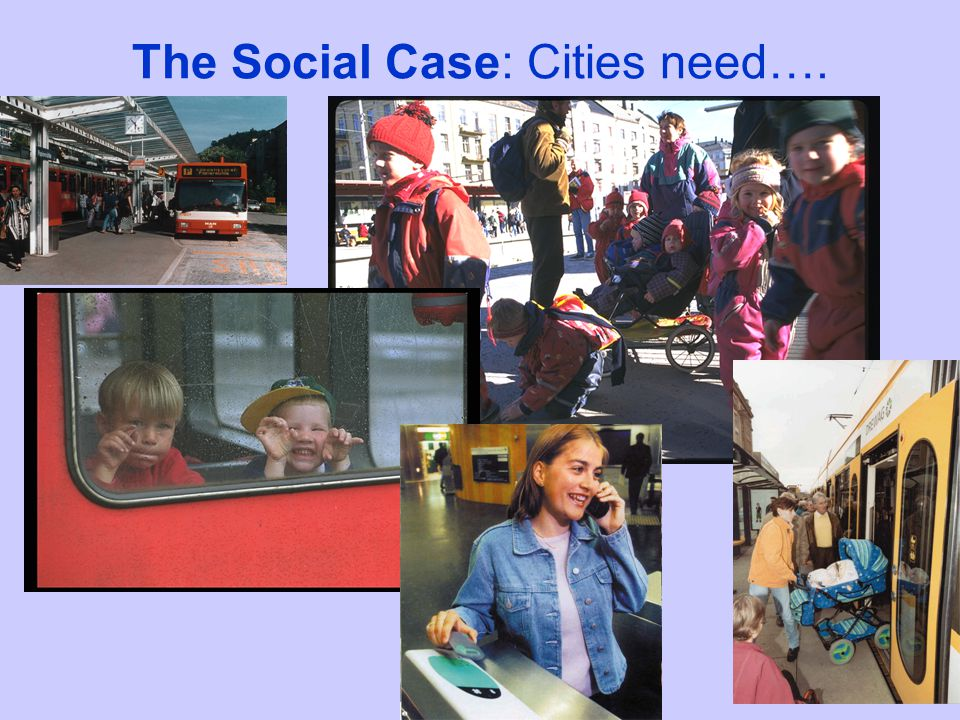 The Environmental Case: Use of Resources - the efficient use of urban space
