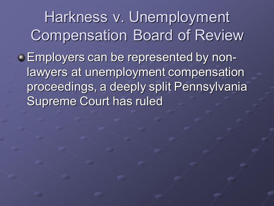Harkness v.