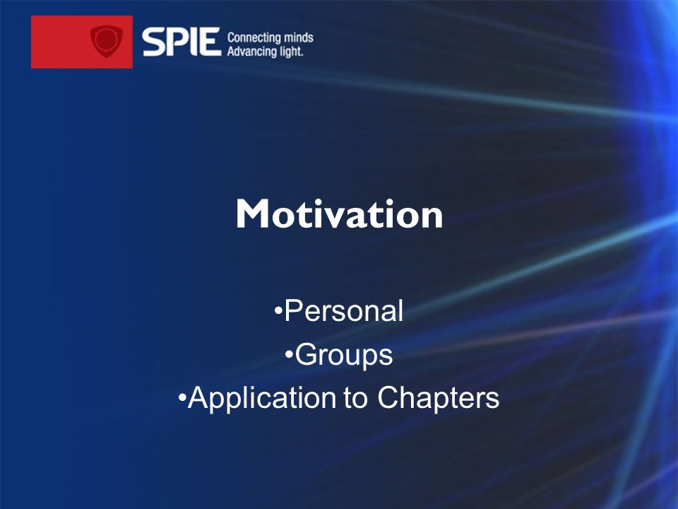 Motivation – A psychological feature that arouses an individual to action toward a desired goal.