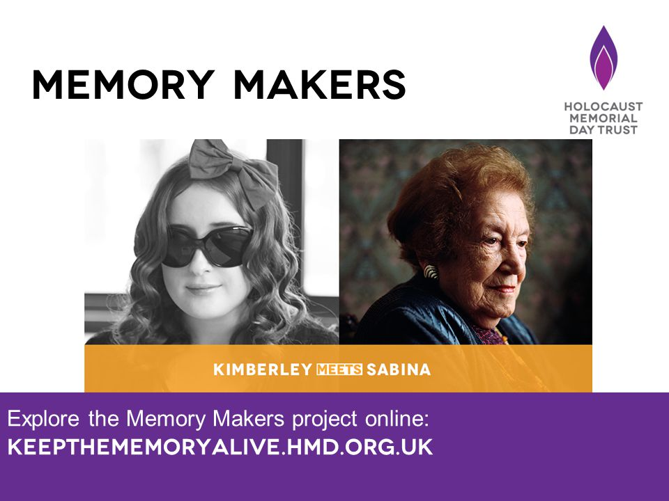 Explore the Memory Makers project online: Keepthememoryalive.hmd.org.uk