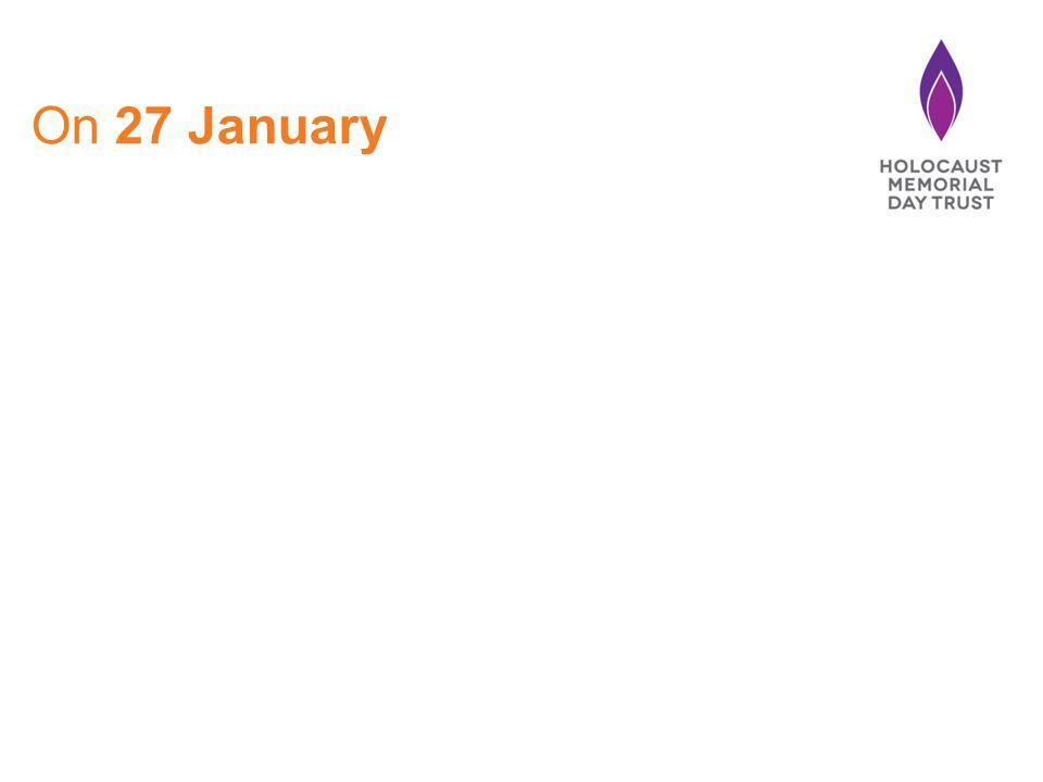 On 27 January