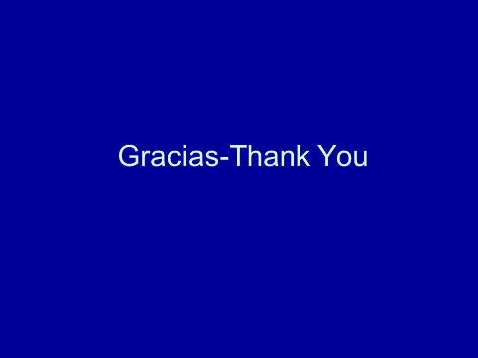 Gracias-Thank You