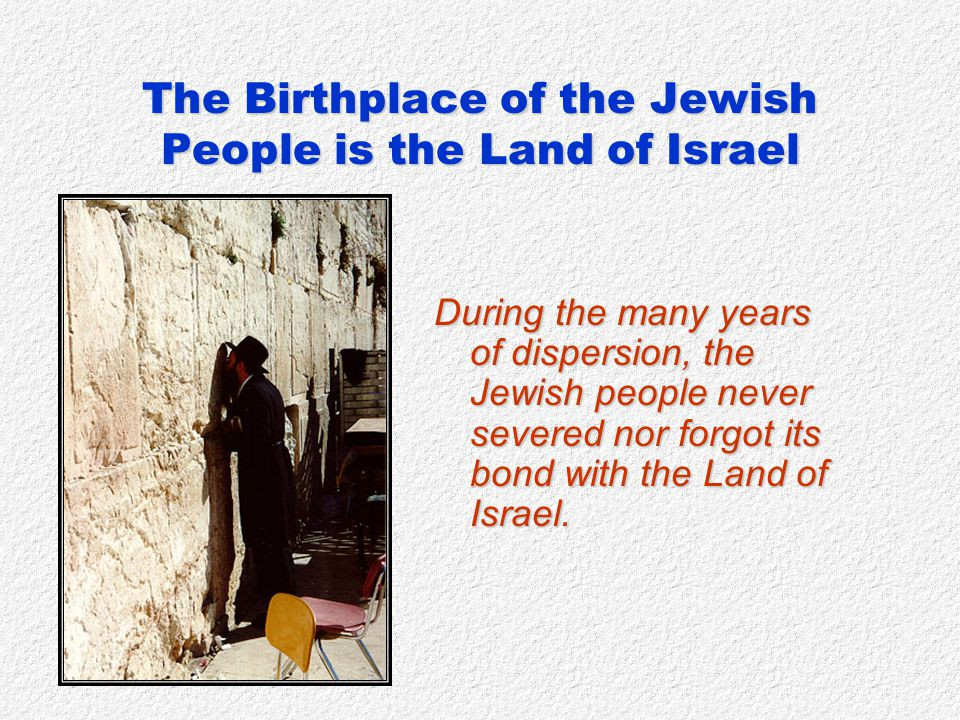 With the establishment of the State of Israel in 1948, Jewish independence, lost two thousand years earlier, was renewed.