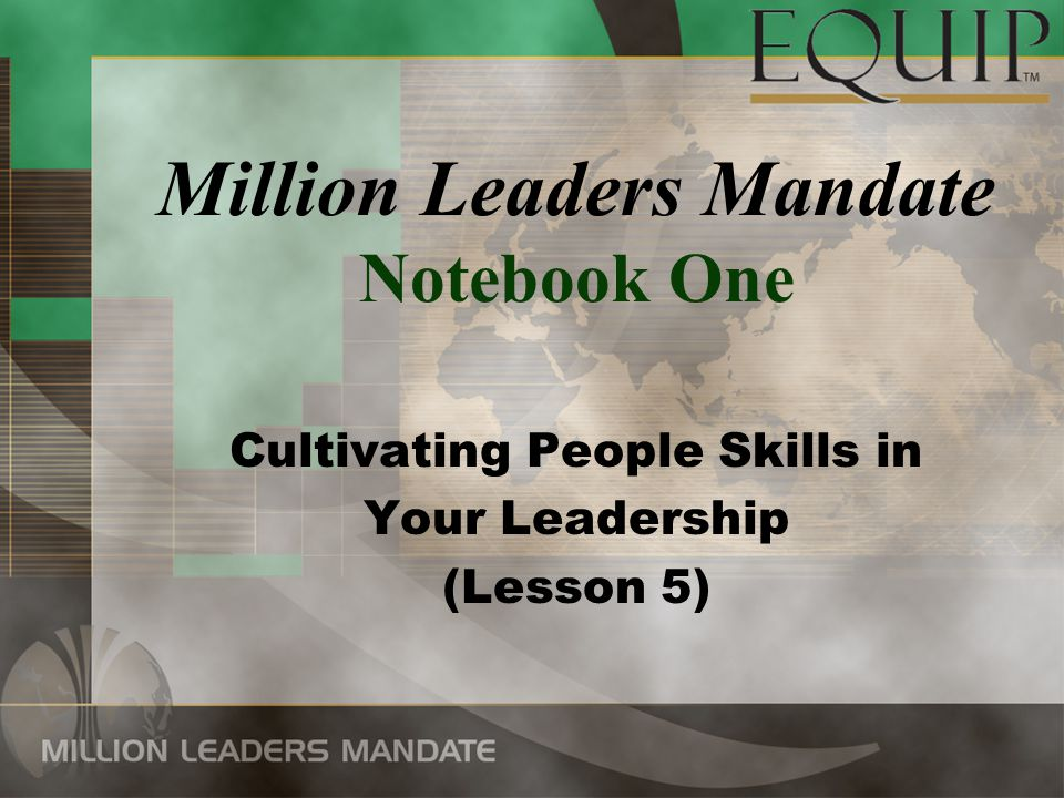 Cultivating People Skills in Your Leadership The Vital Role of Relationships in Leadership