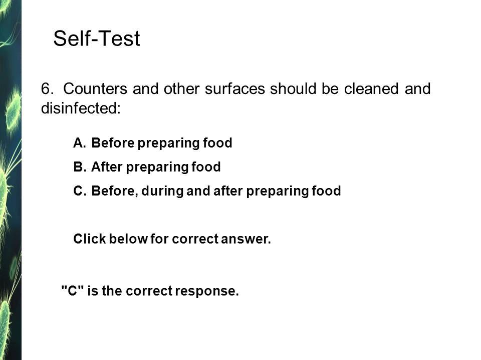 Self-Test 6.