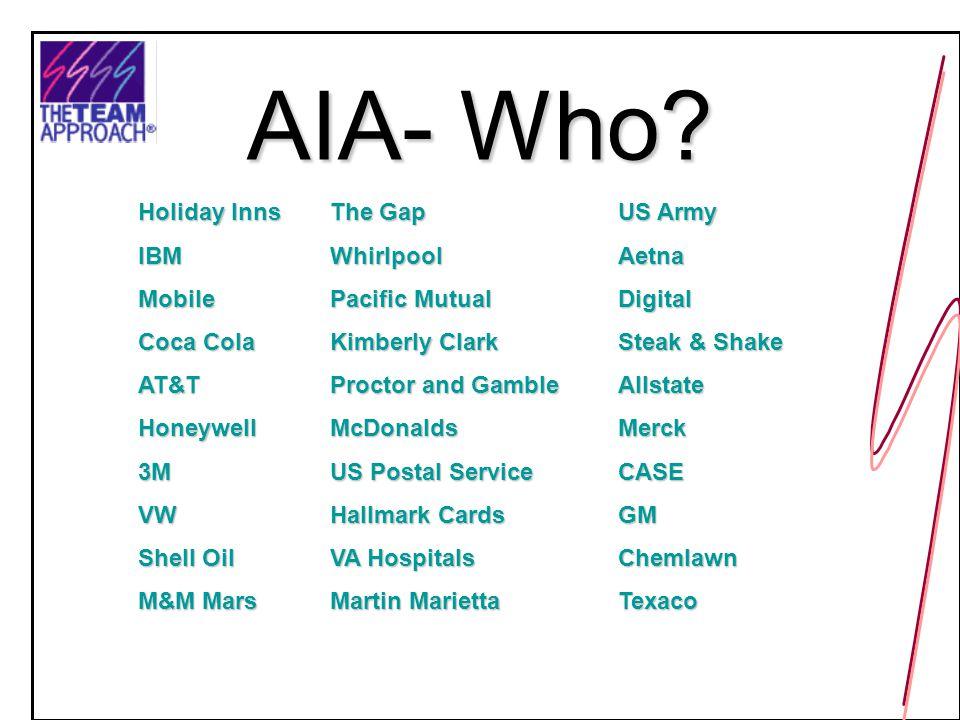 AIA- Who.