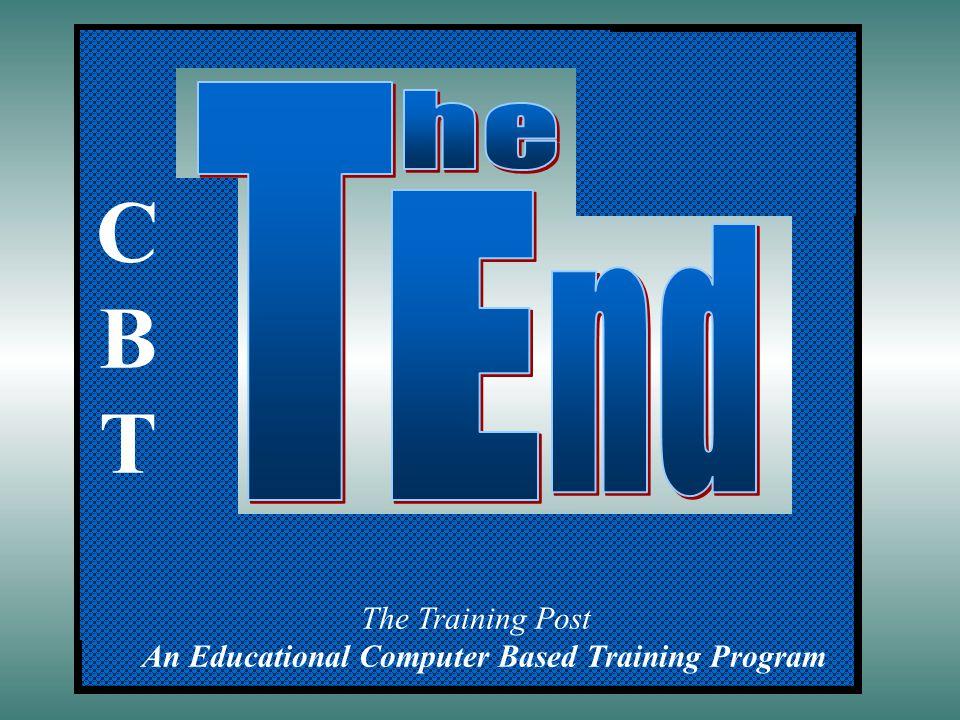 The Training Post An Educational Computer Based Training Program CBTCBT