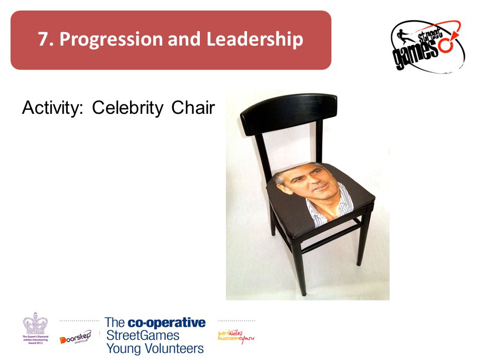 7. Progression and Leadership Activity: Celebrity Chair