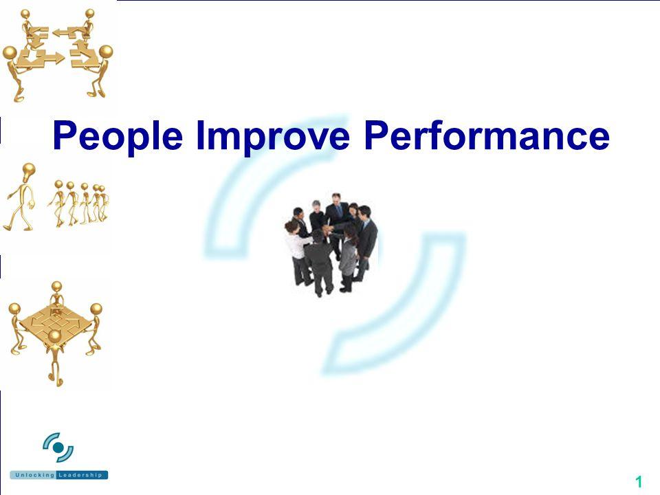 1 People Improve Performance