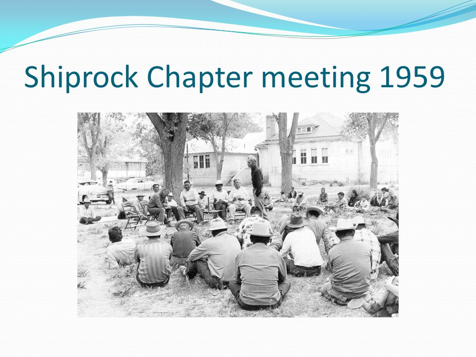 Shiprock Chapter meeting 1959
