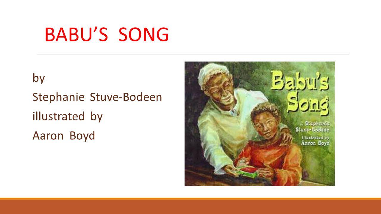 Bernardi hugged Babu, and together they listened to the music.