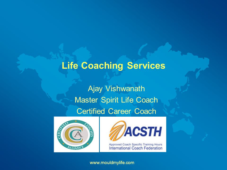 Life Coaching Services Ajay Vishwanath Master Spirit Life Coach Certified Career Coach
