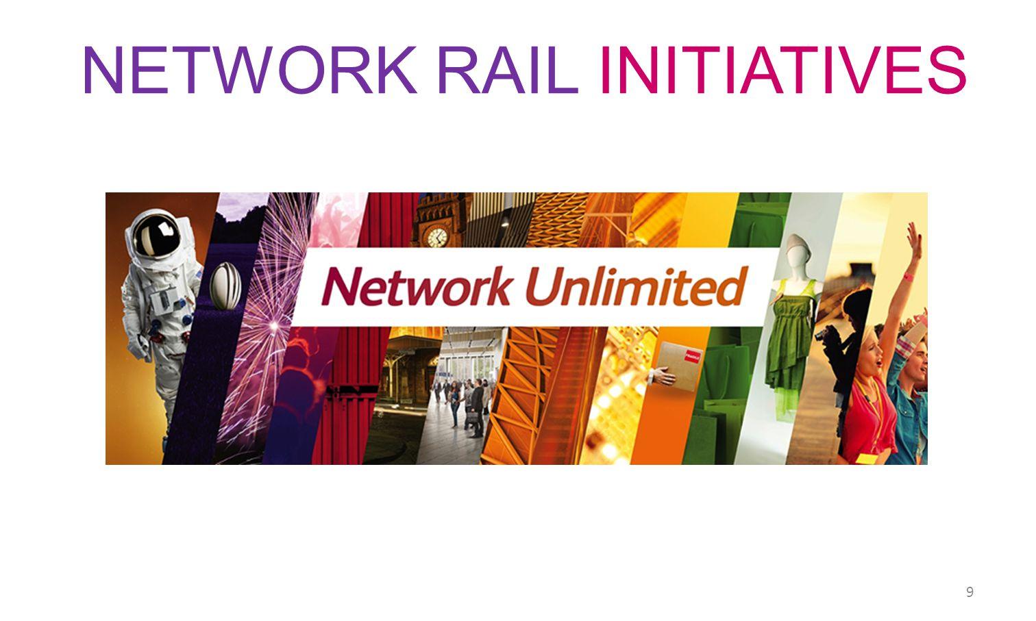 NETWORK RAIL INITIATIVES 9