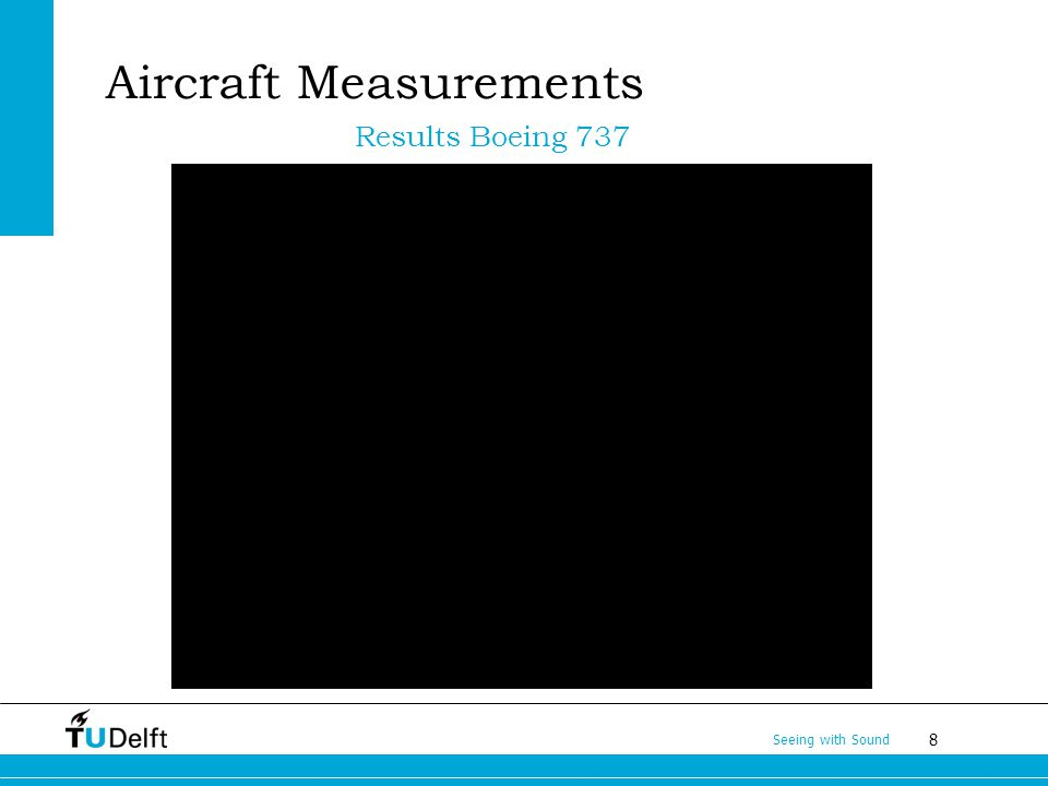 8 Seeing with Sound Aircraft Measurements Results Boeing 737