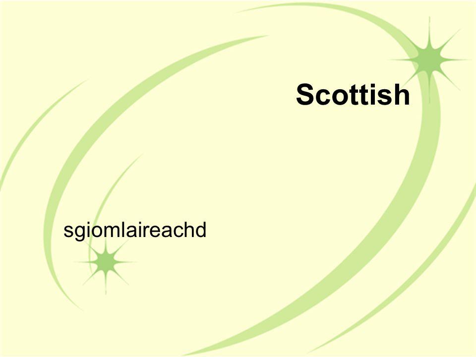 Scottish sgiomlaireachd