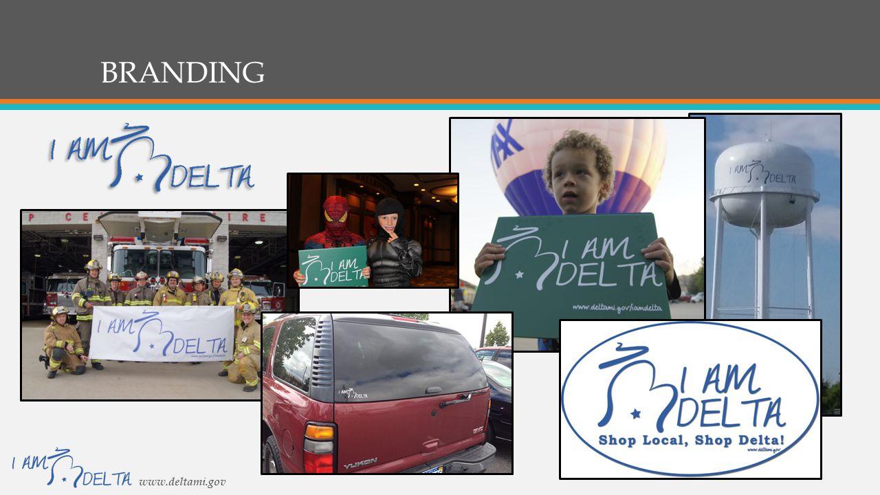 BRANDING www.deltami.gov