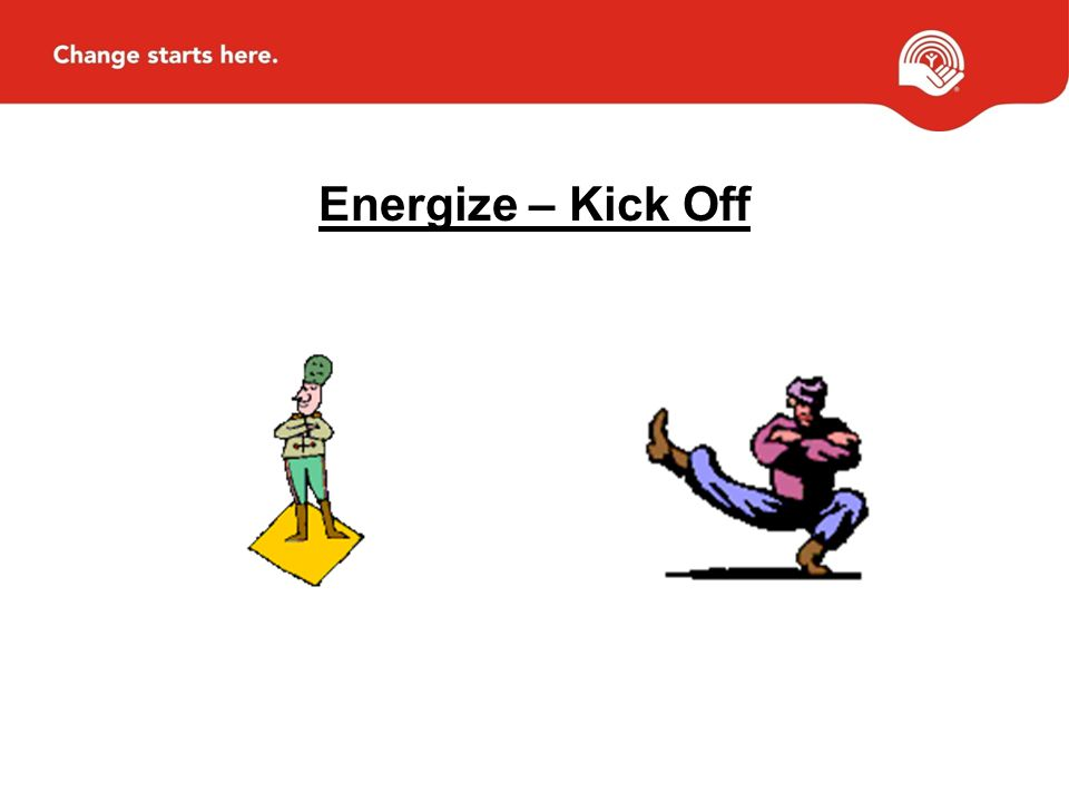 Energize – Kick Off