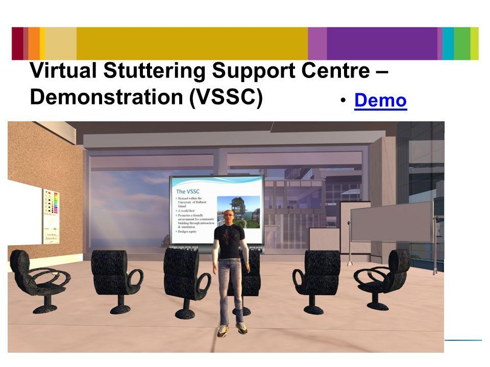Virtual Stuttering Support Centre – Demonstration (VSSC) Demo